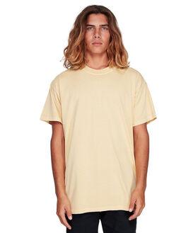 VINTAGE YELLOW MENS CLOTHING BILLABONG TEES - BB-9572051-V20