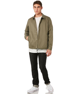 OLIVE MENS CLOTHING OUTERKNOWN JACKETS - 1510023OLV