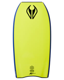 DARK BLUE YELLOW BOARDSPORTS SURF NMD BODYBOARDS BODYBOARDS - NMDTHREEDBLUY