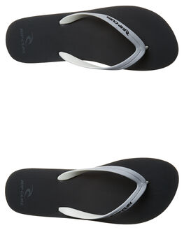 LIGHT GREY DARK MENS FOOTWEAR RIP CURL THONGS - TMT4980432