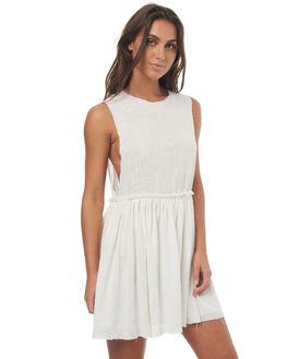 WHITE WOMENS CLOTHING RUE STIIC DRESSES - SO1736YWHT