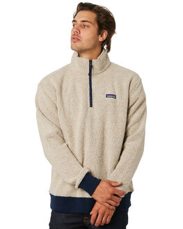 OATMEAL HEATHER MENS CLOTHING PATAGONIA JUMPERS - 26940OAT