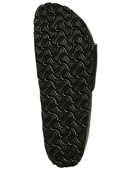 BLACK WOMENS FOOTWEAR BIRKENSTOCK FASHION SANDALS - 128163BLK
