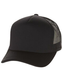 BLACK MENS ACCESSORIES FLEX FIT HEADWEAR - BWT2002BLK