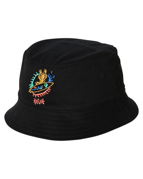 BLACK KIDS BOYS RIP CURL HEADWEAR - KHABD90090