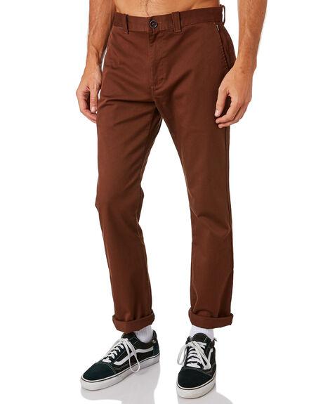 RUST BROWN MENS CLOTHING BILLABONG PANTS - 9581307RBRN