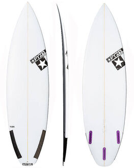 CLEAR BOARDSPORTS SURF PYZEL SURFBOARDS - PYTHEFLASHCLR