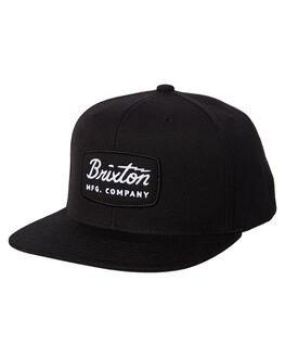 4cbeb3e2bf0 BLACK BLACK WHITE MENS ACCESSORIES BRIXTON HEADWEAR - 00491BBWHT