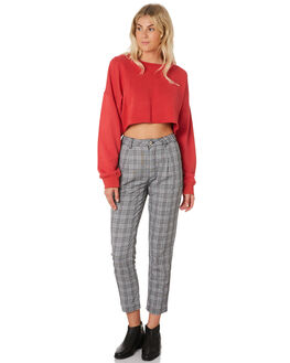 CHECK WOMENS CLOTHING A.BRAND PANTS - 71510-4543