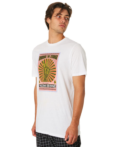 WHITE MENS CLOTHING VOLCOM TEES - A5231956WHT