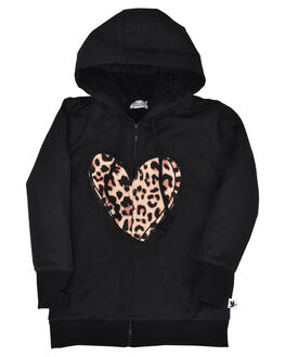 BLACK KIDS GIRLS KISSED BY RADICOOL JUMPERS + JACKETS - KR0930BLK
