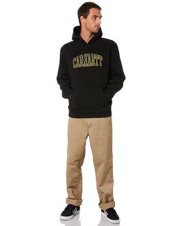 BLACK MENS CLOTHING CARHARTT JUMPERS - I02703189