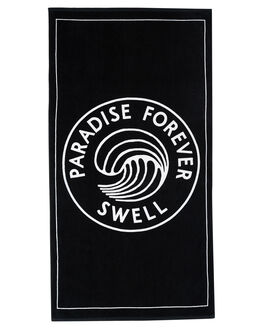 BLACK MENS ACCESSORIES SWELL TOWELS - S51841801BLK