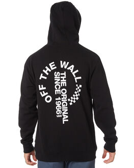 BLACK MENS CLOTHING VANS JUMPERS - VNA3W2RBLKBLK