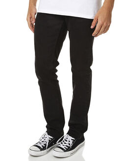 BLACK MENS CLOTHING BILLABONG JEANS - 9565351BLK