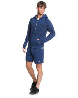 TOKOLO INDIGO MENS CLOTHING QUIKSILVER JUMPERS - EQYFT04160-BTA0