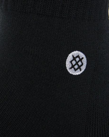 BLACK WHITE MENS CLOTHING STANCE SOCKS + UNDERWEAR - Q116D14ICOBLK