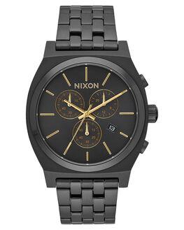 ALL BLACK GOLD MENS ACCESSORIES NIXON WATCHES - A972-1031