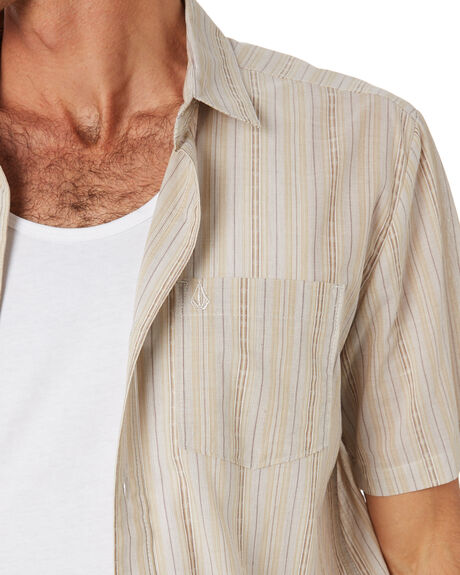MAHOGANY MENS CLOTHING VOLCOM SHIRTS - A0432002MAH