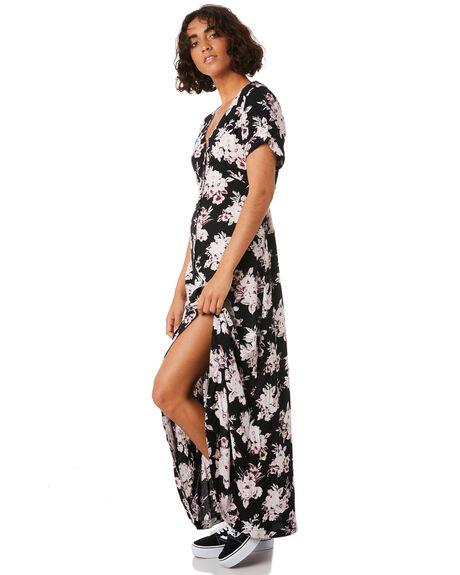 BLACK COMBO OUTLET WOMENS VOLCOM DRESSES - B13218S0BLC
