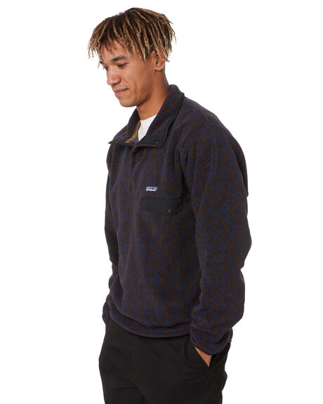 FIELD GEO NEW NAVY MENS CLOTHING PATAGONIA JUMPERS - 25580FSNY
