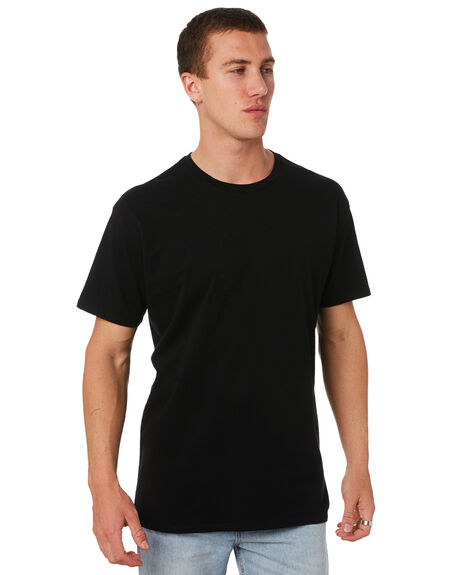 BLACK MENS CLOTHING SWELL TEES - S5173005BLK