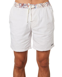 BLANC MENS CLOTHING THE CRITICAL SLIDE SOCIETY BOARDSHORTS - BS1870BLANC
