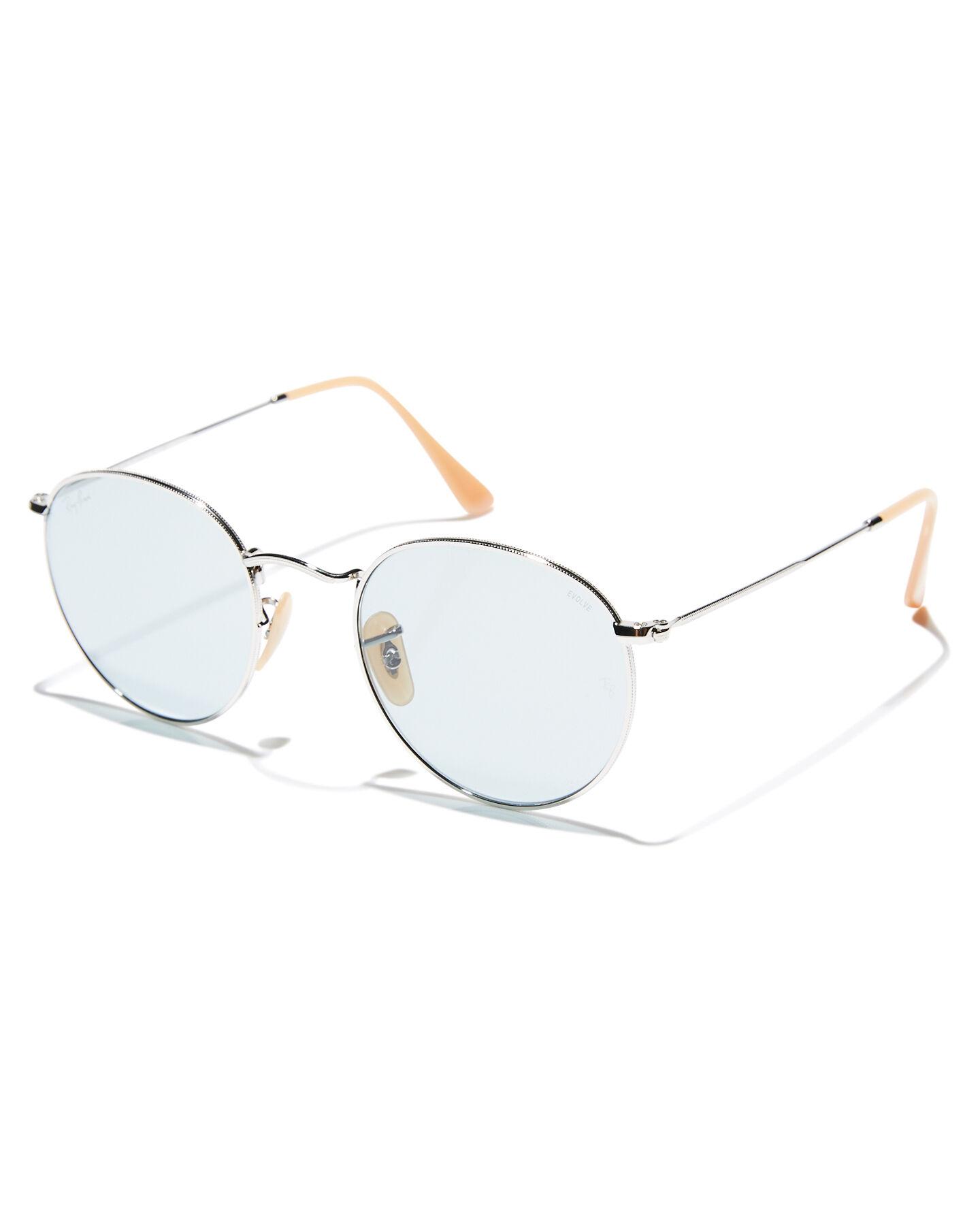 9fda630342f1 ... round sunglasses 53mm a8cb2 46e2f  buy blue photochromic mens accessories  ray ban sunglasses 0rb3447silpb 1586e ff3fb