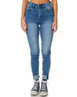 PROTEST BLUE WOMENS CLOTHING LEE JEANS - L-656201-CE4PROT