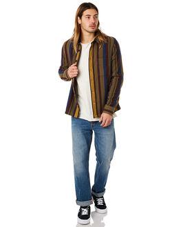 WOOL CLUB MENS CLOTHING NUDIE JEANS CO SHIRTS - 140571R22