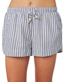 WHITE NAVY STRIPE KIDS GIRLS EVES SISTER SHORTS + SKIRTS - 9520027STR