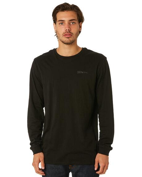 BLACK MENS CLOTHING DEPACTUS TEES - D5171101BLACK