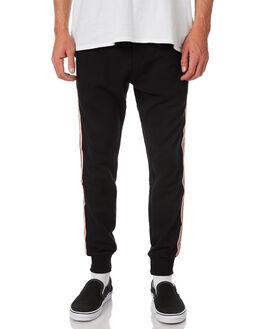 BLACK MENS CLOTHING BARNEY COOLS PANTS - 737-CR2BLK