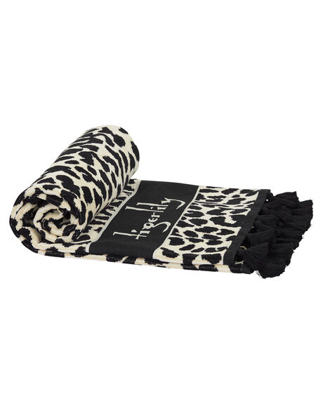 LEOPARD WOMENS ACCESSORIES TIGERLILY TOWELS - T491890LEO