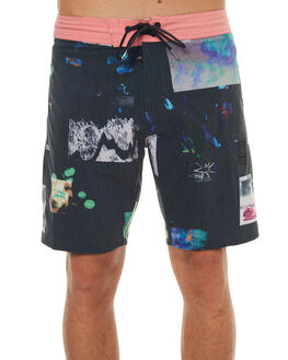 BLACK MENS CLOTHING VOLCOM BOARDSHORTS - A0841700BLK