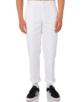WHITE MENS CLOTHING DICKIES PANTS - DCK874WHI