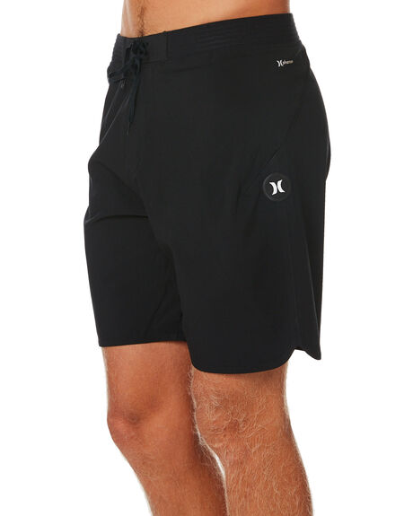 BLACK MENS CLOTHING HURLEY BOARDSHORTS - CJ5397010