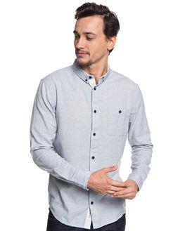 VINTAGE INDIGO MENS CLOTHING QUIKSILVER SHIRTS - EQYWT03725BYL0