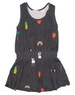 ASH BLACK KIDS TODDLER GIRLS MUNSTER KIDS DRESSES - MM171DR12ASHBK