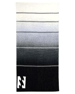 BLACK MENS ACCESSORIES BILLABONG TOWELS - 9682706CBLK