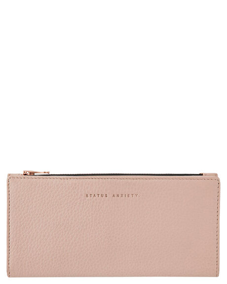DUSTY PINK WOMENS ACCESSORIES STATUS ANXIETY PURSES + WALLETS - SA1434DSTPK