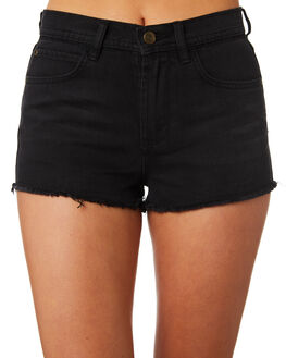 BLACK WASH WOMENS CLOTHING ELEMENT SHORTS - 283363BLK
