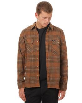 COPPER MENS CLOTHING BRIXTON SHIRTS - 01023COSHN