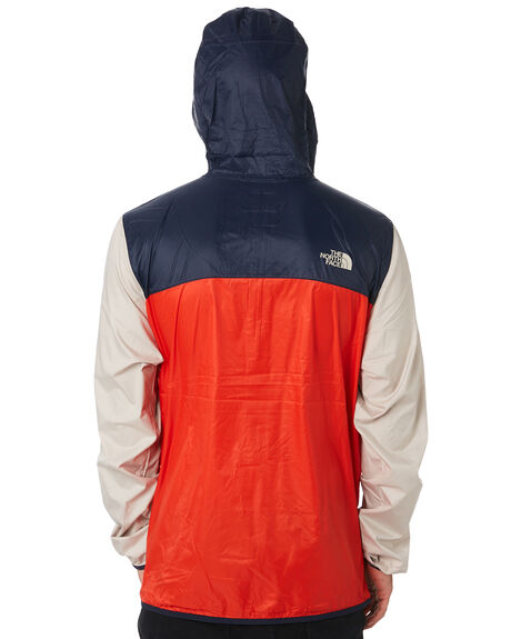 RED NAVY WHITE MENS CLOTHING THE NORTH FACE JACKETS - NF0A3FZLL49