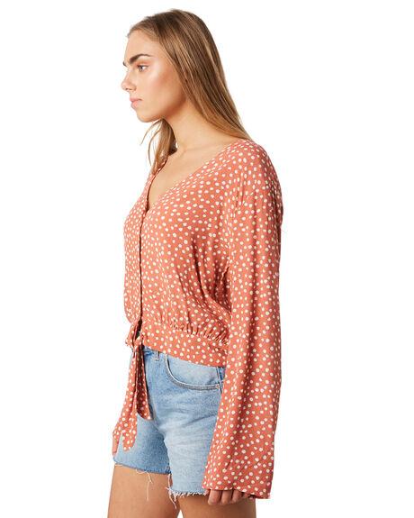 CLAY SPOT WOMENS CLOTHING ELWOOD FASHION TOPS - W93301-6HJ