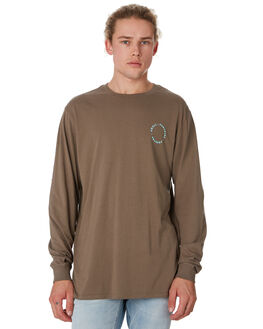 WASHED OLIVE MENS CLOTHING SWELL TEES - S52011102WSHOL