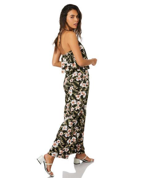 BLACK COMBO OUTLET WOMENS VOLCOM PANTS - B1212006BLC