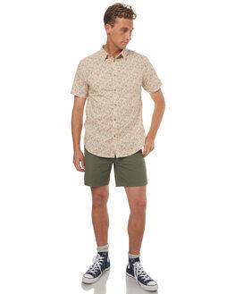 AMBER MENS CLOTHING RHYTHM SHIRTS - OCT17M-WT04-AMB
