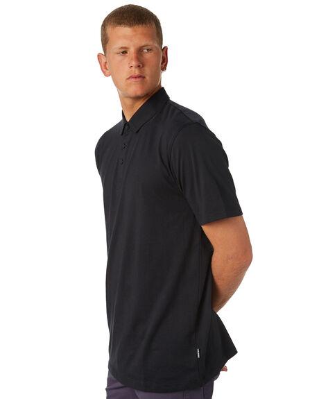 BLACK MENS CLOTHING VOLCOM SHIRTS - A0111700BLK