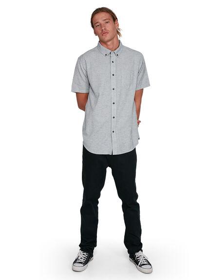 LIGHT GREY MENS CLOTHING BILLABONG SHIRTS - BB-9503200-G63